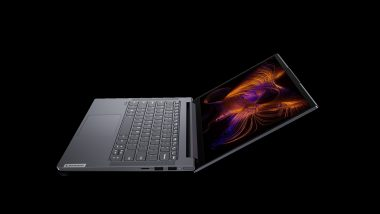 Lenovo Yoga Slim 7i Laptop Launched in India at Rs 79,990; Online Sale on August 14 via Amazon.in, Flipkart & Official Website