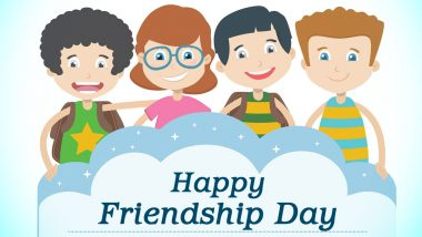 Friendship Day 2020 Wishes, Quotes and Greetings for School Friends: Remember Your Childhood Buddies with These GIFs, HD Images & Whatsapp Stickers