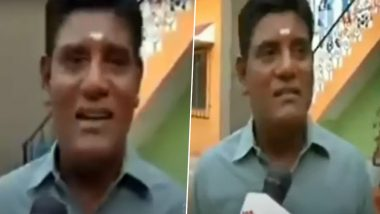 Taarak Mehta Ka Ooltah Chashmah Actor Tanuj Mahashabde Aka Mr Iyer's This Old Video Is Going Viral!