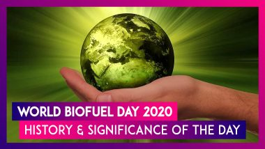 World Biofuel Day 2020 Date: Know History & Significance Of The Day That Raises Awareness About Importance Of Non-Fossil Fuels
