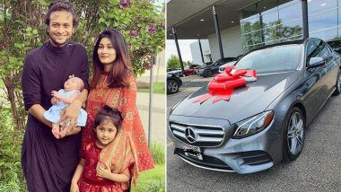 Shakib Al Hasan Gifts Wife Umme Ahmed Shishir a Brand New Mercedes-Benz Car on Eid al-Adha 2020 (View Pics)