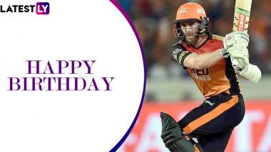 Kane Williamson Birthday Special: Here's Look at IPL Stats of Former Skipper of Sunrisers Hyderabad