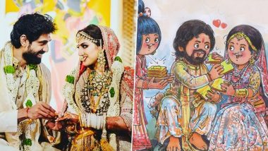 Rana Daggubati and Miheeka Wedding: Amul's 'Daggubutterly' Ode To The Starry Ceremony Is Beautiful (View Pic)