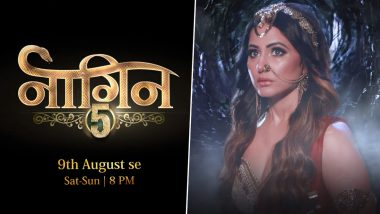 Naagin 5 Gets It Launch Date and Time, Here's When And Where You Can Watch Hina Khan's Supernatural Thriller (Watch Teaser)