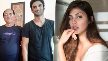 Sushant Singh Rajput Case: Father KK Singh's WhatsApp Message to Rhea Chakraborty Reveals He Tried to Get an Update on Son's Health Back in Nov 2019