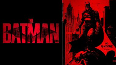 Batman Logo Look: Matt Reeves Gives DC Fans a Treat Ahead Of DC FanDome Event (View Pics)