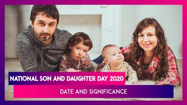 National Son And Daughter Day 2020: Date And Significance Of The Day Celebrating Familial Bonds