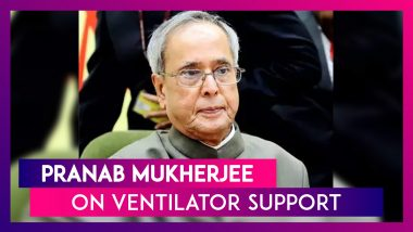 Pranab Mukherjee, Former President Of India, COVID-19 Positive, On Ventilator After Brain Surgery
