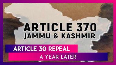 Article 370 Abrogation, 1 Year Ago: What Was Article 370 And What Happened in After It Was Removed?