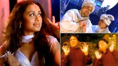 Adnan Sami Birthday: Amitabh Bachchan, Govinda, Rani Mukerji And More – 7 Times When Bollywood Stars Appeared In The Musical Maestro's Songs!