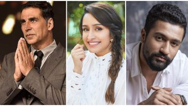 Independence Day 2020 Wishes: Akshay Kumar, Shraddha Kapoor, Vicky Kaushal and Other Bollywood Celebs Share Messages of Gratitude and Brotherhood