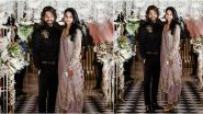 Allu Arjun and Sneha Reddy Define Elegance and Beauty in Manish Malhotra's Outfits At Niharika Konidela and Chaitanya JV's Engagement Ceremony