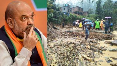 Idukki Landslide in Kerala: HM Amit Shah Expresses His Condolences to Bereaved Families