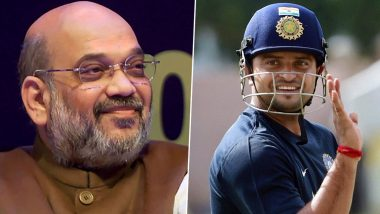 Amit Shah Tests Positive for COVID-19: Suresh Raina Wishes Home Minister a Speedy Recovery (See Post)