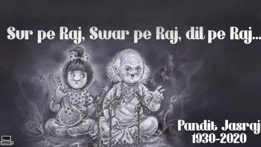RIP Pandit Jasraj: Amul Topical's Tribute To The Legendary Vocalist Will Touch Every Music Lover (View Pic)