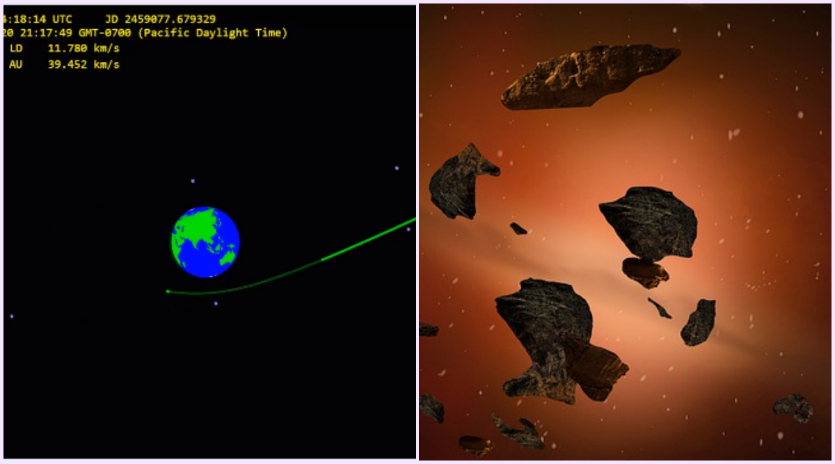 Close Miss! Car-Sized Asteroid 2020 QG Flew Past The Earth on ...