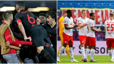 How to Watch Atletico Madrid vs RB Leipzig, UCL 2019–20 Live Streaming Online in India? Get Free Telecast Details of UEFA Champions League in IST