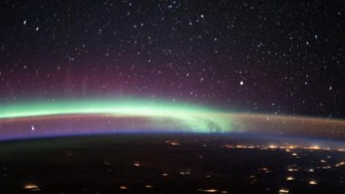 'Aurora Meet Airglow'! NASA Shares a Stunning Photo of Earth's Most Colourful Phenomena Captured by ISS