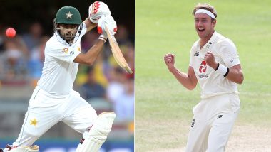 England vs Pakistan 1st Test 2020: Stuart Broad vs Babar Azam and Other Exciting Mini Battles to Watch Out in Manchester