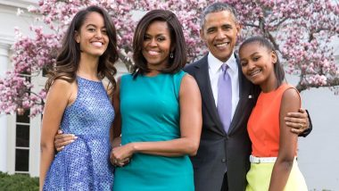 Barack Obama Birthday Special: From Being a Protective Father to a Loving Husband, 5 Reasons Why The Family Man Has Our Hearts!