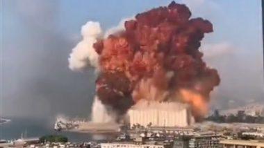 Lebanon: Massive Blast in Beirut Ahead of Court Verdict in Ex-PM Rafik Hariri's Killing, Over 50 Dead; Watch Horrifying Videos