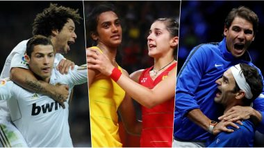 Cristiano Ronaldo-Marcelo, PV Sindhu-Carolina Marin, Roger Federer-Rafael Nadal, 5 Real-Life Friendships in Sports