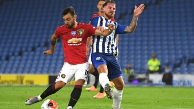 MUN 1-0 COP, Europa League 2019–20 Match Result: Bruno Fernandes in Extra Time Lifts Manchester United into Semi-Finals