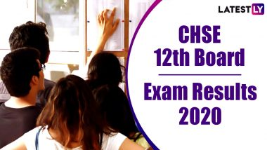 CHSE Odisha +2 Science Result 2020 Declared: 70.21% Pass, Check Class 12 Board Exam Results Online at orissaresults.nic.in