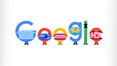 COVID-19 Prevention Google Doodle: This Quirky Animation Encourages People to 'Wear a Mask, Saves Lives: Help Stop Coronavirus'