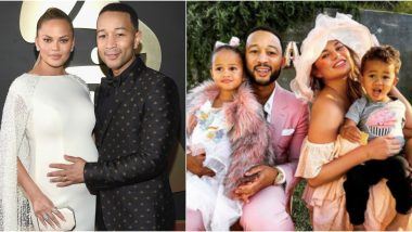 John Legend and Chrissy Teigen To Welcome Third Baby: 6 Times the Couple Gave Us Perfect Family Goals (View Pics)