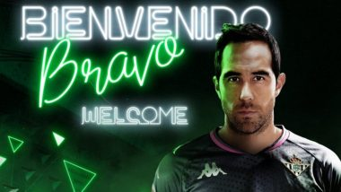 Claudio Bravo Transfer News Latest Update: Former Barcelona and Manchester City Goalkeeper Signs for La Liga Club Real Betis