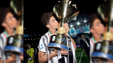 Cristiano Ronaldo Shares Picture With Serie A Trophy, Says 'It's Not a Bad Habit' After Clinching His Second League Title in Italy