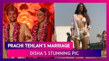Prachi Tehlan's Marriage, Priyanka & Nick Jonas' New Family Member, Disha Patani's Stunning Picture