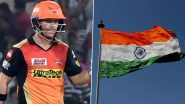 Happy Independence Day 2020: SRH Captain David Warner Wishes Indian Fans, Shares Pic of Indian National Flag