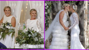 Same-Sex Marriage: Delissa Kimmince and Laura Harris, Australian Women's Cricketers, Get Married (View Pics)