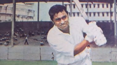 Dilip Sardesai 80th Birth Anniversary Special: 8 Quick Facts About the Renaissance Man of Indian Cricket