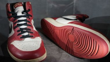 Michael Jordan's Rare Sneakers Fetch $615,000 at Auction