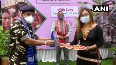 Raksha Bandhan 2020: Women from Northeast Tie Rakhi on Jawans Posted in Jammu and Kashmir and Ladakh