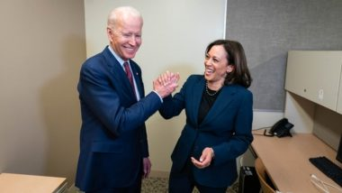 US Presidential Elections 2020: Joe Biden Says Chose Kamala Harris as Running Mate as She 'Never Shies From Fighting for What's Right'