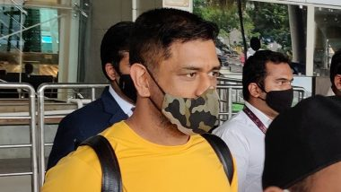 IPL 2020 Team News: MS Dhoni, Other Chennai Super Kings Players Reach Chennai for Training Camp Ahead of Tournament