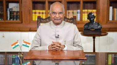 President Ram Nath Kovind Donates Rs 5,01,000 for Ram Temple Construction in Ayodhya