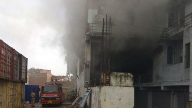 Delhi: Fire Breaks Out at Godown in Okhla Phase 1