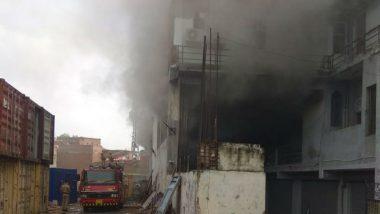 Delhi Fire: Blaze Erupts at Godown in Okhla Phase 1, Doused