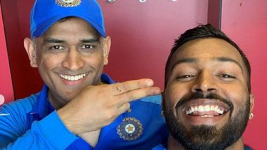 MS Dhoni Retires at 39: Hardik Pandya Says 'Thank You for Being Biggest Inspiration in My Career'