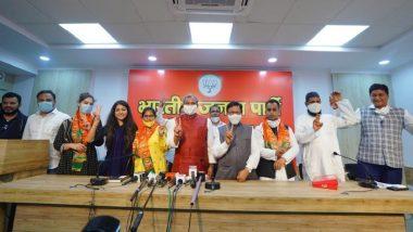 Shaheen Bagh Social Activist Shahzad Ali Joins BJP in Presence of Delhi Party President Adesh Gupta