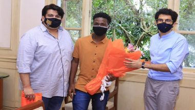 Ghana Footballer Randy Juan Muller, Who Was Stranded at Mumbai Airport For Over 50 Days Due to COVID-19 Lockdown, Meets Aaditya Thackeray After Getting Accommodation in Mumbai Hotel