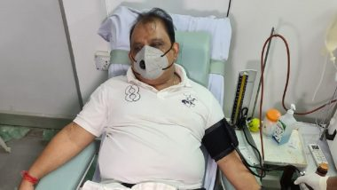 Jharkhand Minister Mithilesh Kumar Thakur Donates Plasma After Recovering from COVID-19