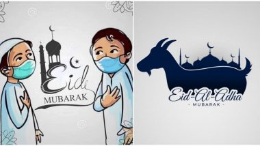 Eid al-Adha 2020 Messages and Bakrid Images Trend on Twitter: Netizens Share Eid ul-Adha Quotes, GIFs and Greetings to Wish Everyone Bakra Eid Mubarak