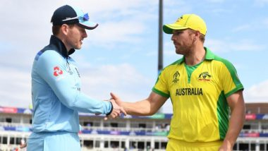England vs Australia 2020: ICC Confirms ENG to Host AUS in Three T20I, ODI Series in September