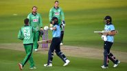 ENG 44/3 in 8.1 Overs | England vs Ireland 3rd ODI 2020 Live Score Updates: Hosts Lose Top Three Cheaply